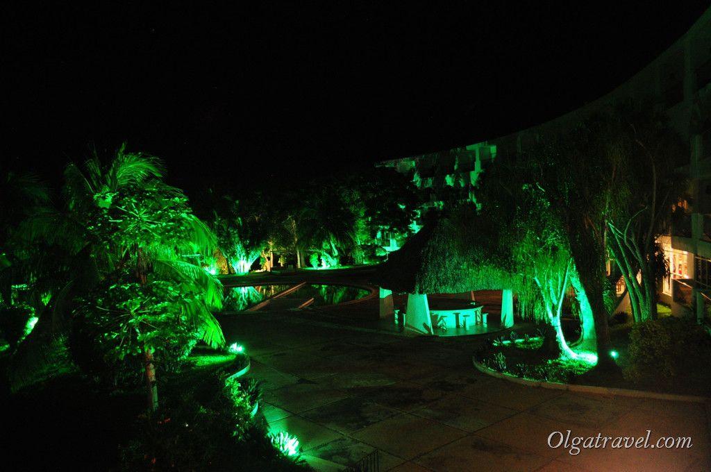 Вечерняя подсветка