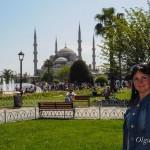 Голубая мечеть (мечеть Султанахмед) в Стамбуле