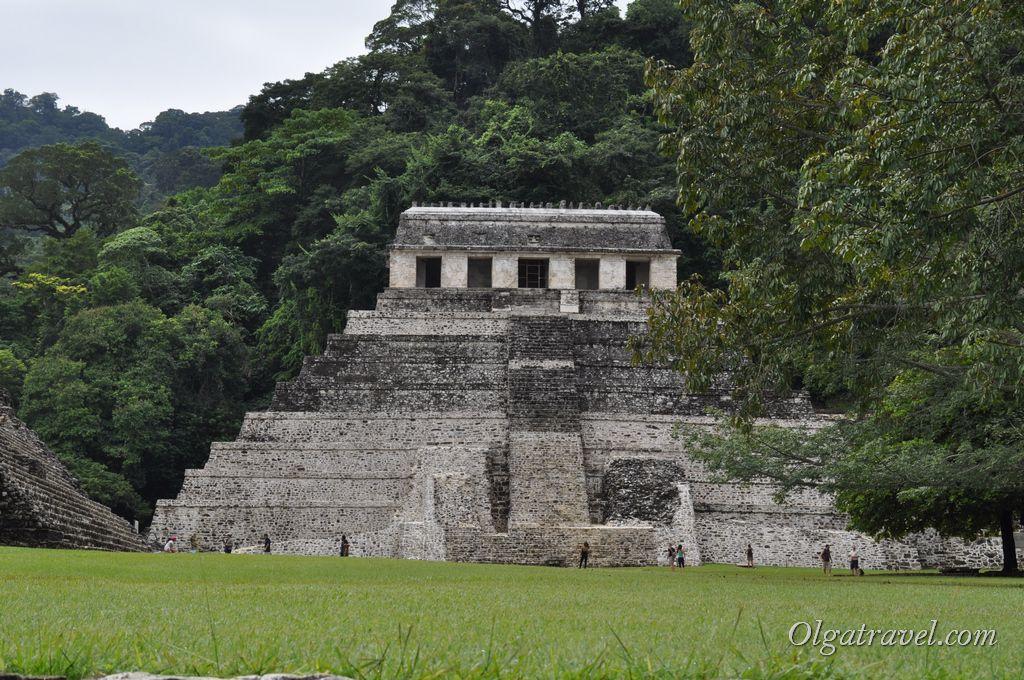 Храм надписей паленке попасть внутрь