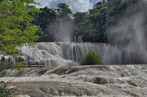 Водопад Агуа Азул, Паленке