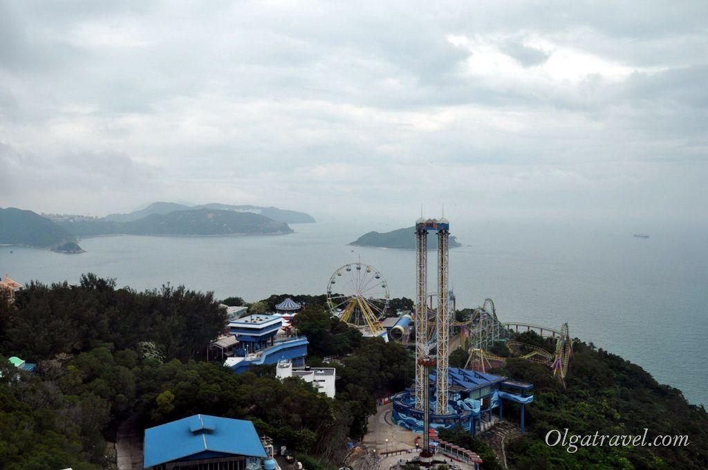 Оушен парк в Гонконге