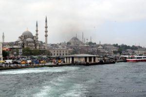 Новая мечеть и мечеть Сулеймание в Стамбуле