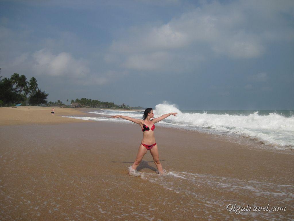 Пляж Тангале в Шри Ланке