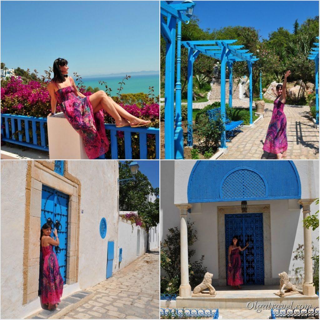 Бело-голубой город Сиди-бу-Саид