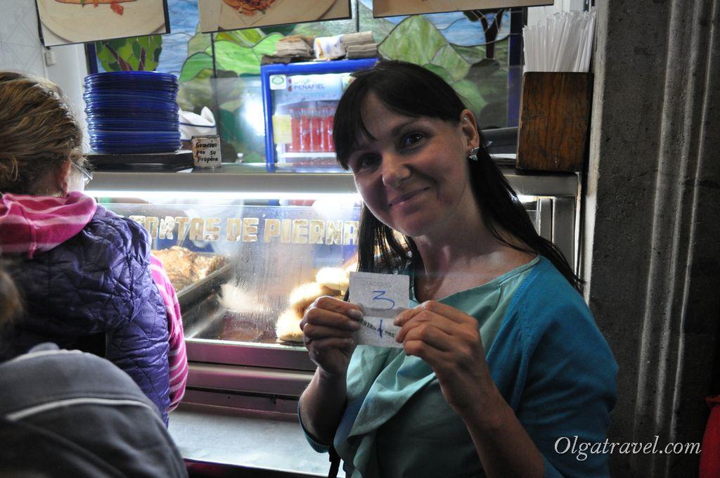 Еда в Мехико