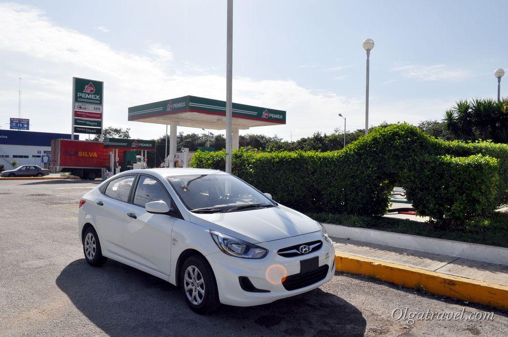 Стандартная заправка в Мексике - PEMEX