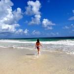 Мексика, Юкатан: город Тулум Пуэбло и красивейший пляж Тулум на Карибском море