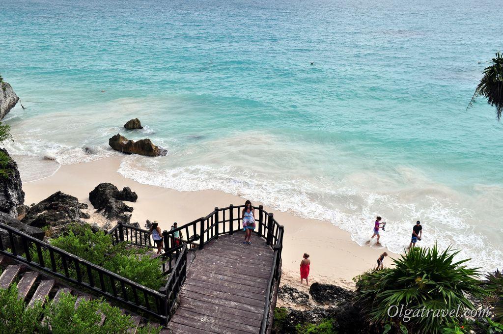 пляж Тулум