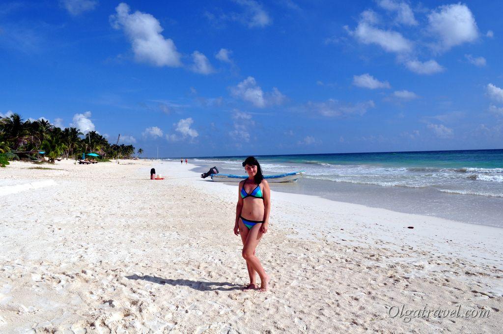 Тулум пляж