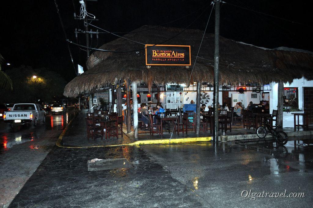 ресторан в Тулуме