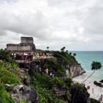 Мексика: пирамиды Тулум – древний город майя на берегу Карибского моря