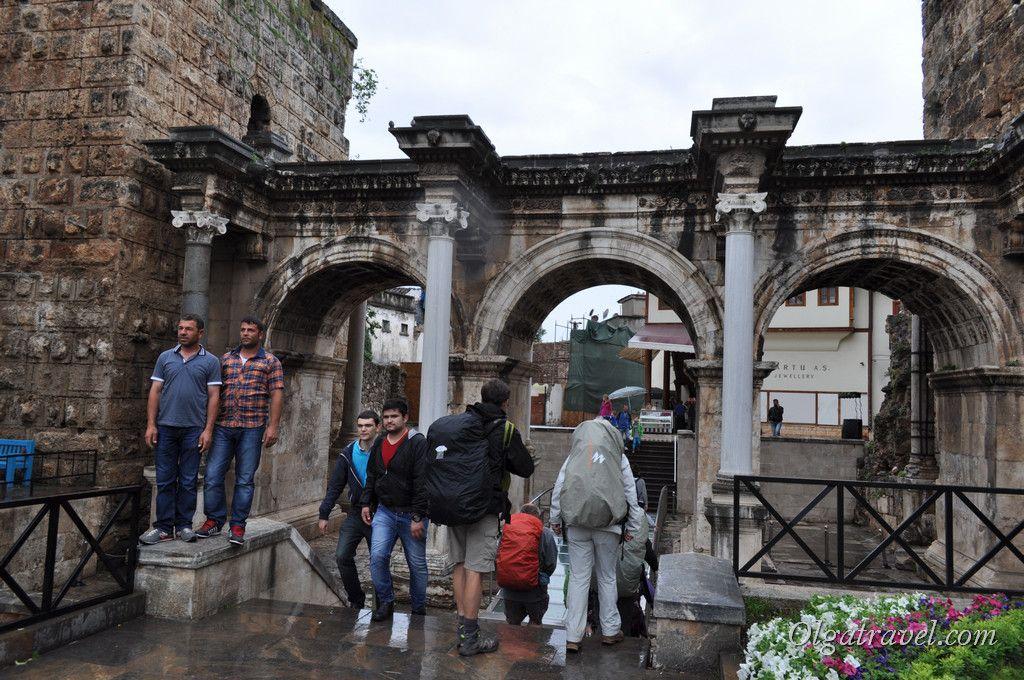 ворота Адриана Анталия