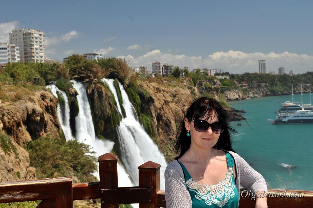 водопад Дюден Анталия