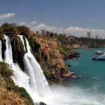 Водопады Дюден в Анталии – одна из самых посещаемых природных достопримечательностей города