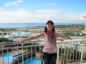 Liberty Hotels Lara - вид с балкона номера