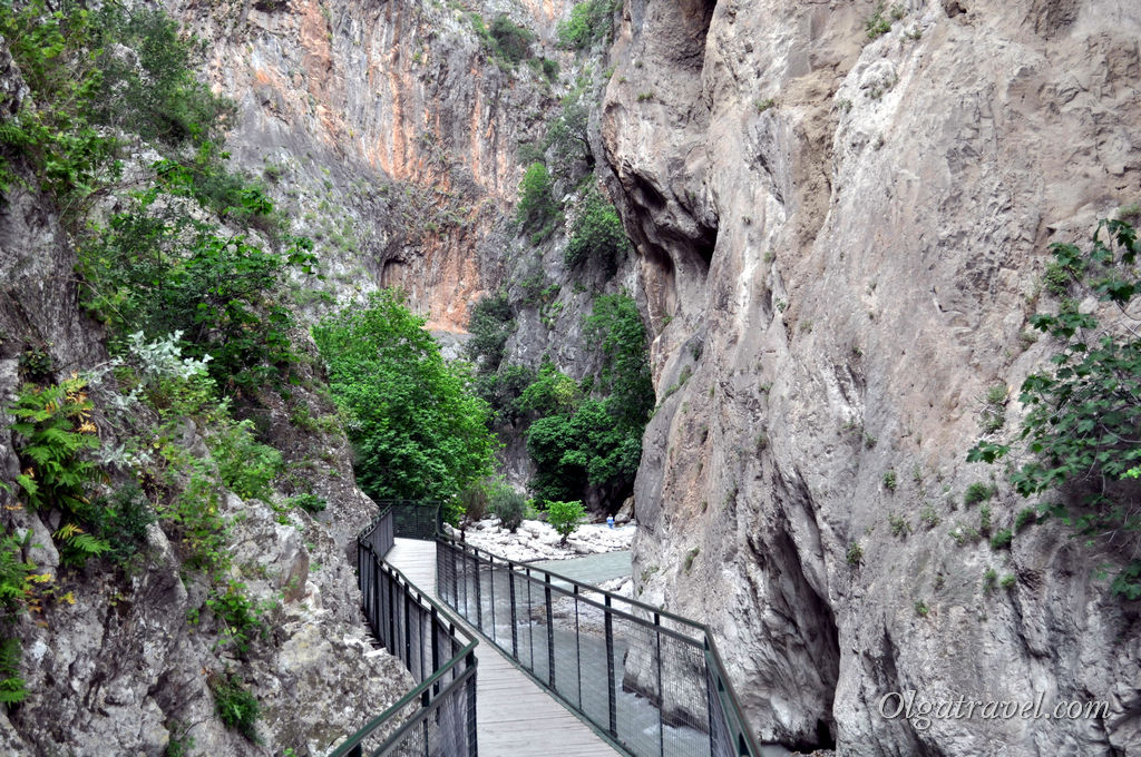 Ущелье Саклыкент в Турции
