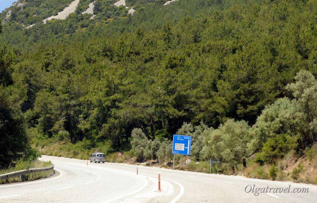 Турция дорога
