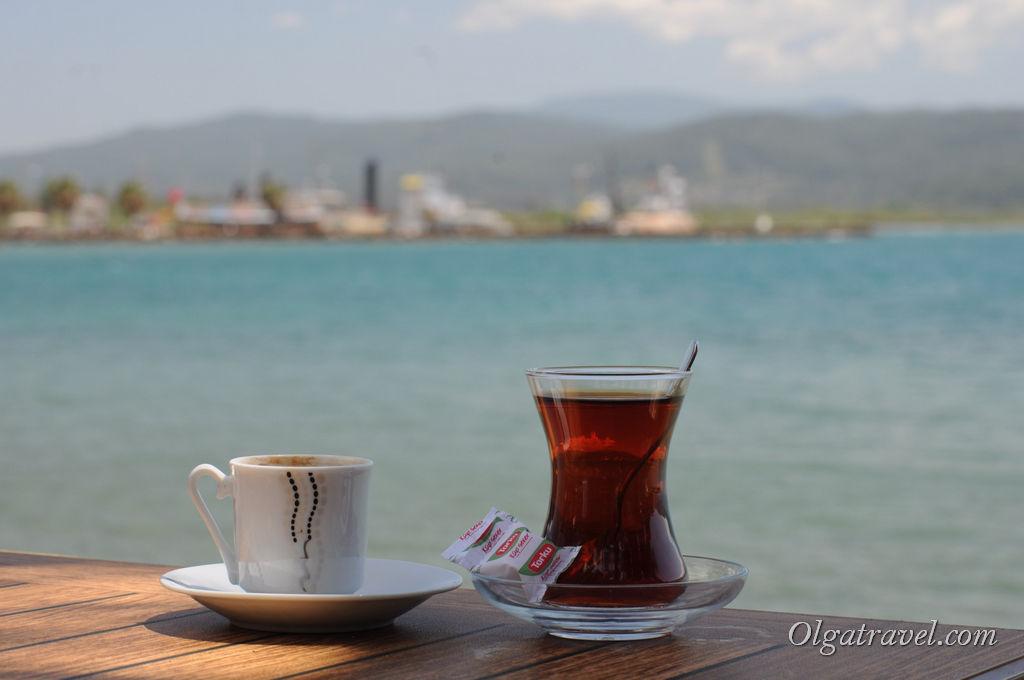 турецкий чай, кофе