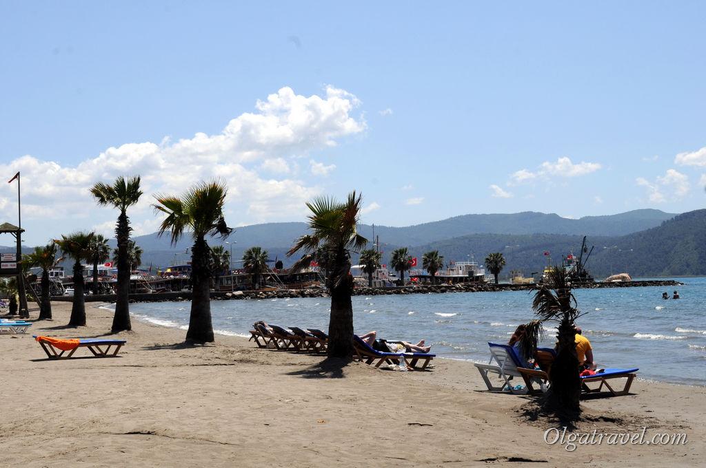 Акьяка Турция пляж