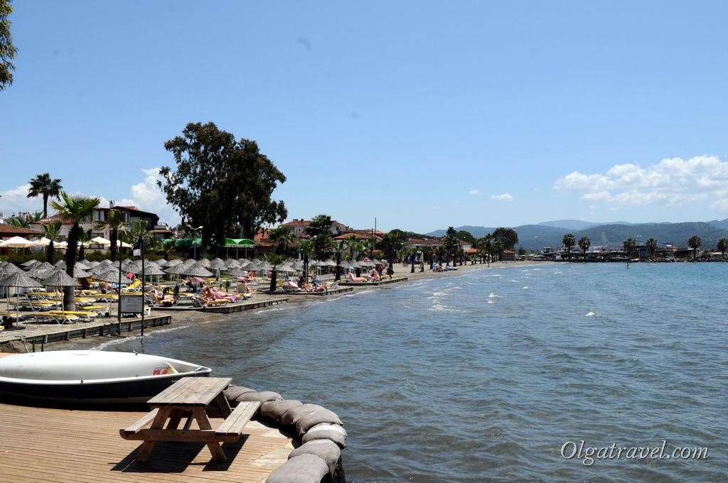пляж Акьяка