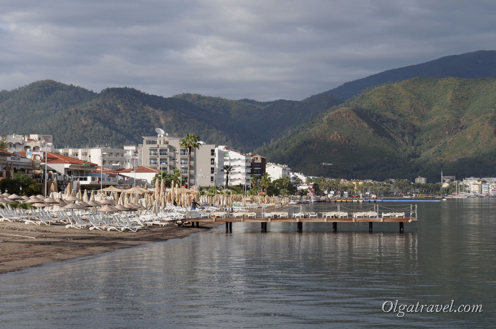 пляж Мармарис
