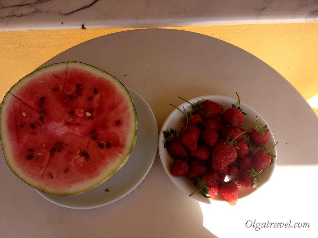 Мармарис фрукты