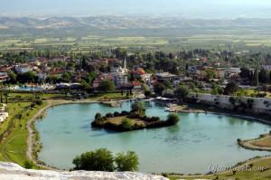 город Памуккале Турция