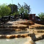 Карахаит – красные травертины Турции недалеко от Памуккале
