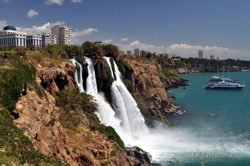 водопад Дюден Турция