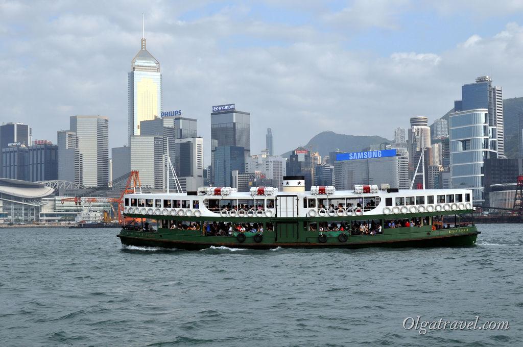 Паромы Star Ferry