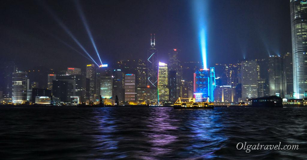 Шоу Симфония света в Гонконге