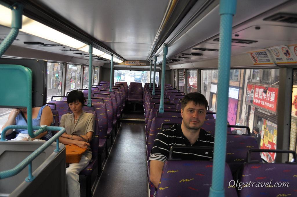 Гонконг автобус