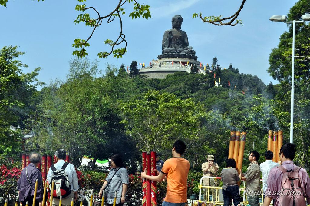монастырь По Лин Гонконг нг