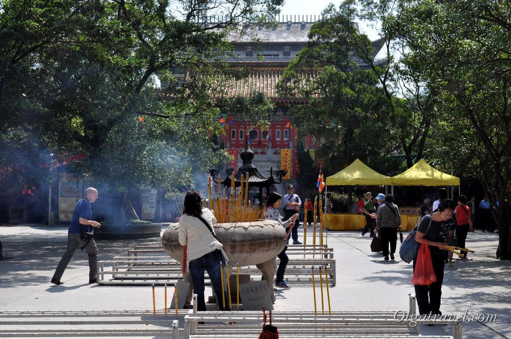 монастырь По Лин Гонконг