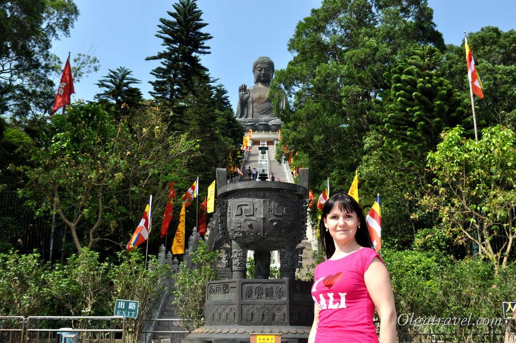 Большой Будда Гонконг