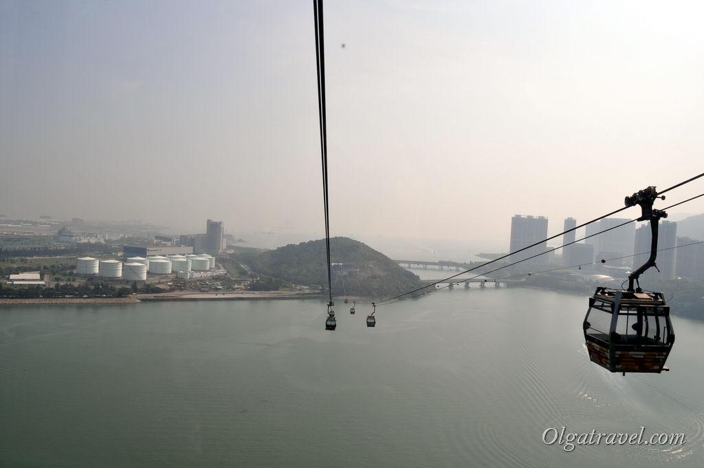 канатная дорога к Большому Будде Гонконг