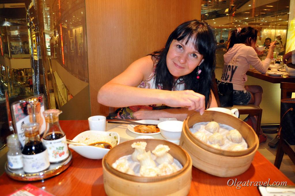 Гонконг дим сум еда