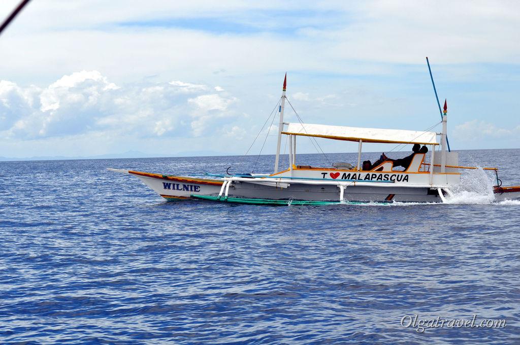 А мы плывем на Малапаскуа!