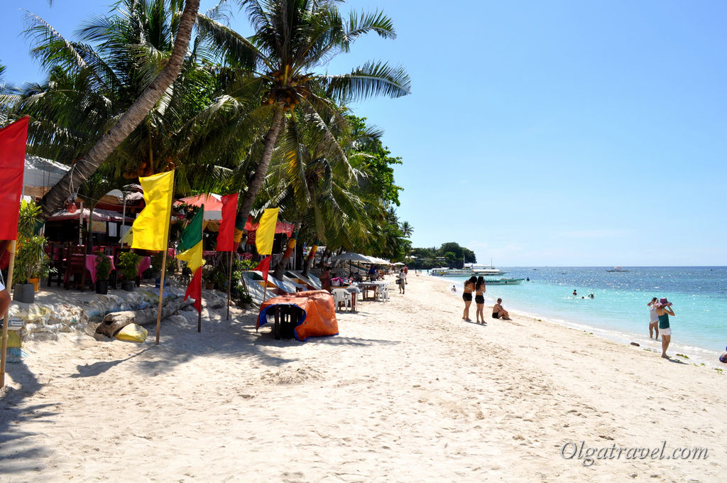 Пляж Алона бич на острове Панглао