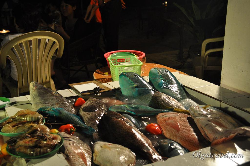 На ужин выбираем рыбу
