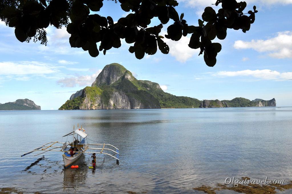 Вид на море соседние острова с нашего отеля
