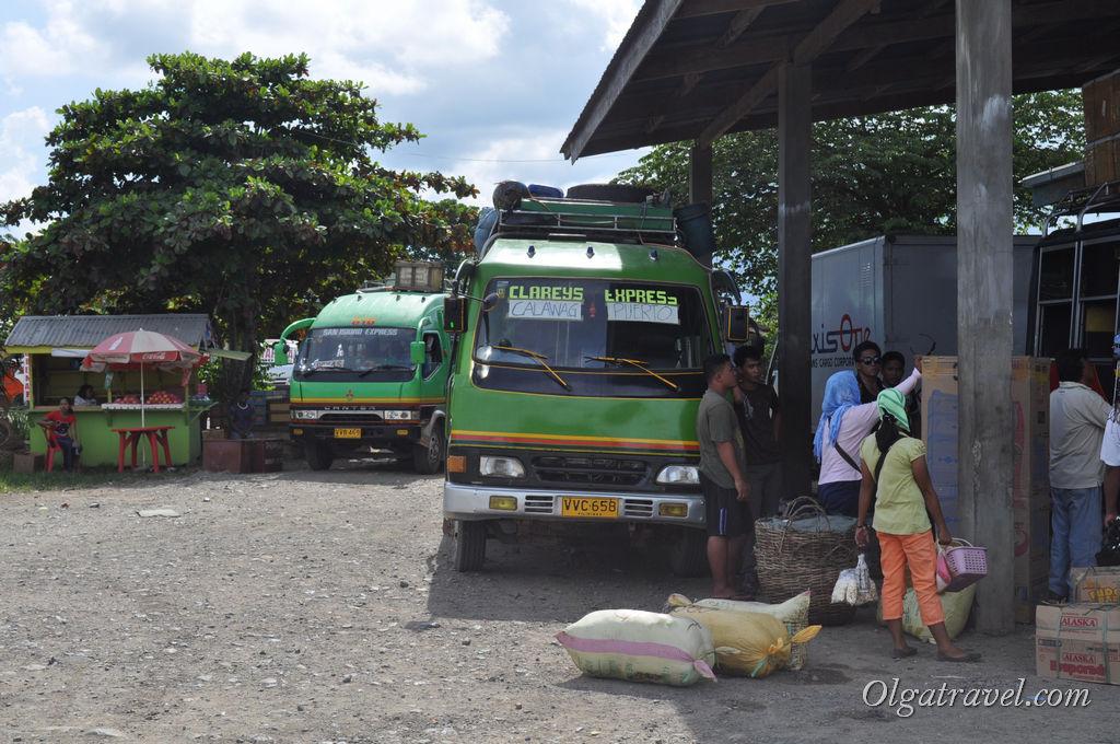 Филиппинские автобусы в Пуэрто-Принцесса