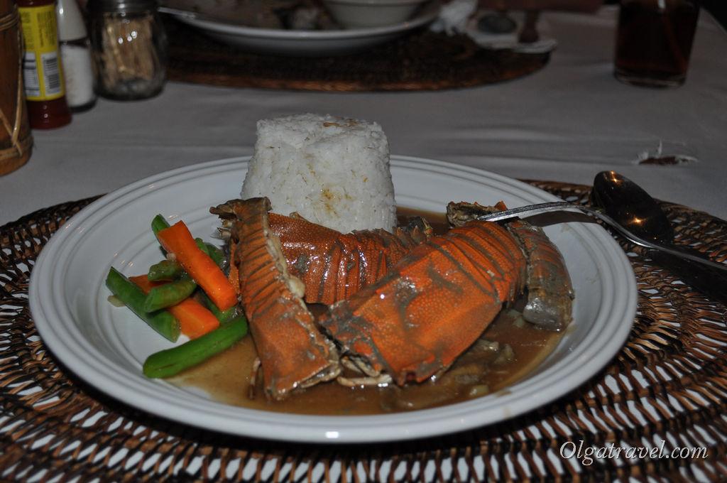 еда Филиппины