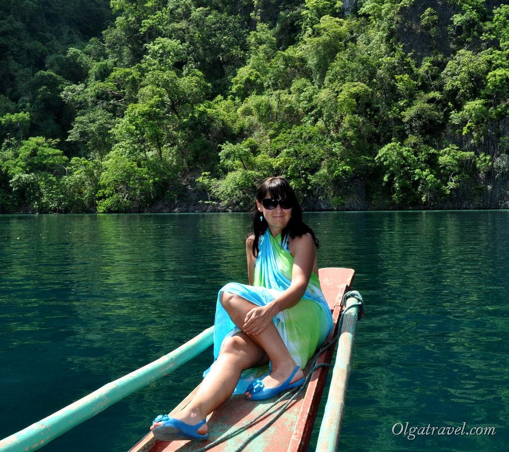 Основной транспорт на Филиппинах это лодки :)