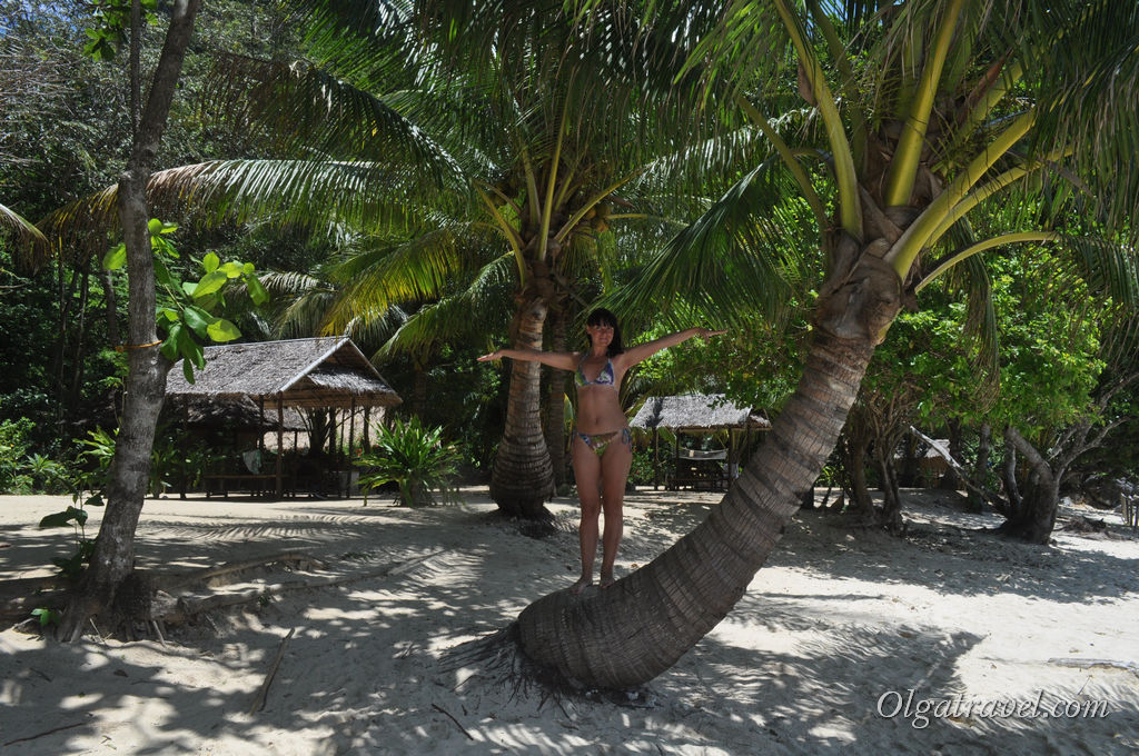 На одном из пляжей острова Палаван
