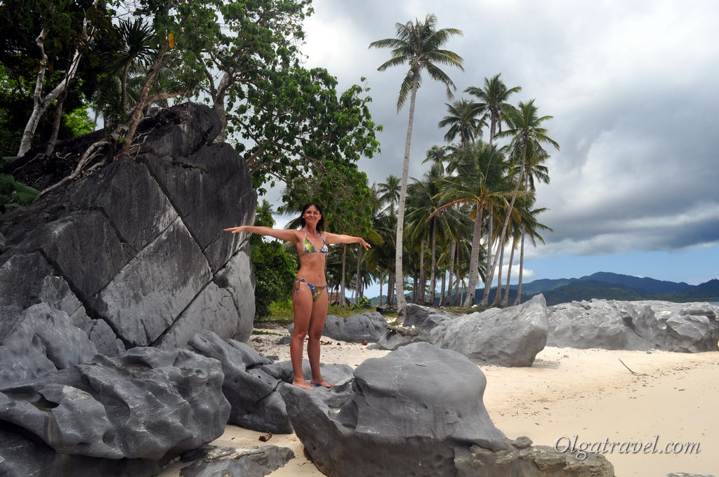 Эль Нидо Pinagbuyutan Island