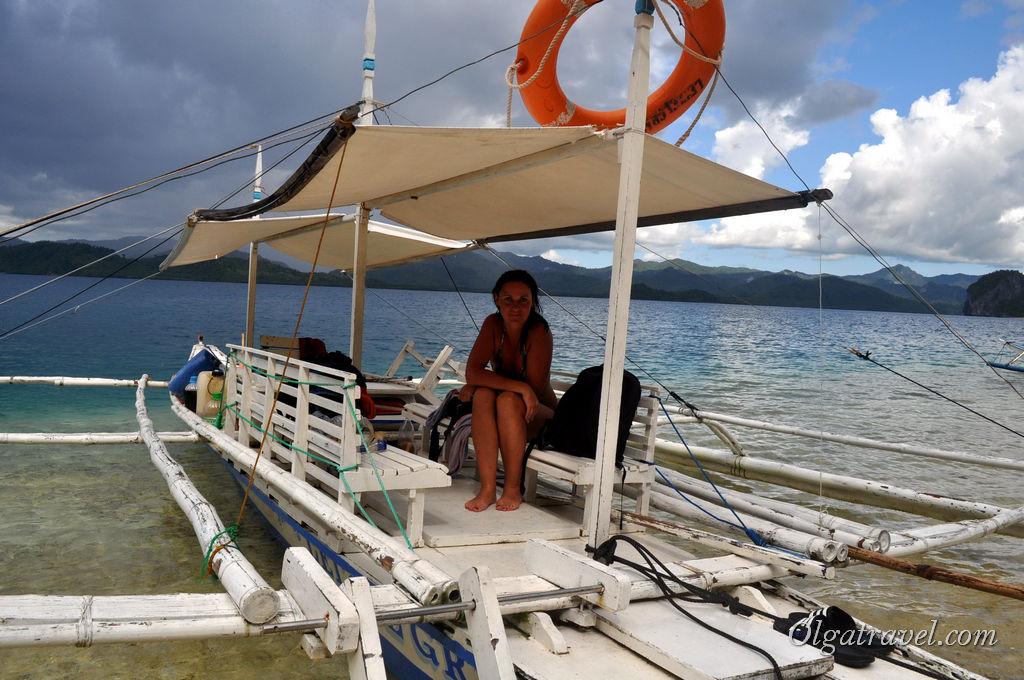 Наша небольшая, но быстрая лодка в туре B