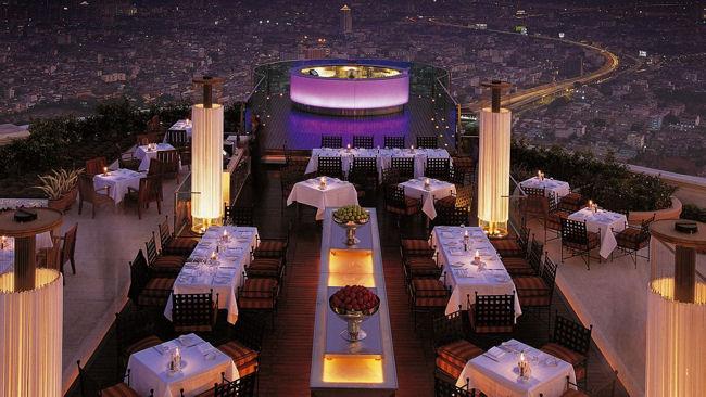 Бар на крыше отеля Tower Club At lebua. Я там, к сожалению не была, фото не мое :)