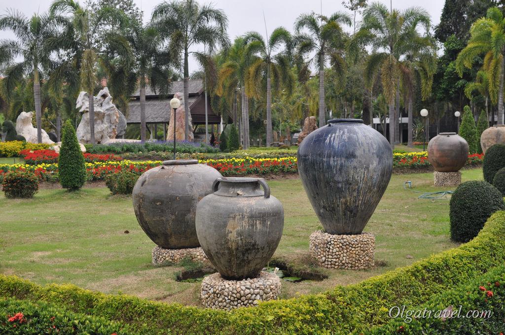 Центральная часть парка
