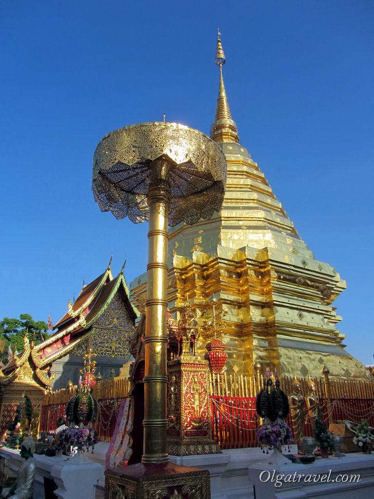 Самый почитаемый храм Севера Таиланда - Ват Дой Сутхеп